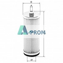 Air filter 317895 for Rietschle vacuum pumps